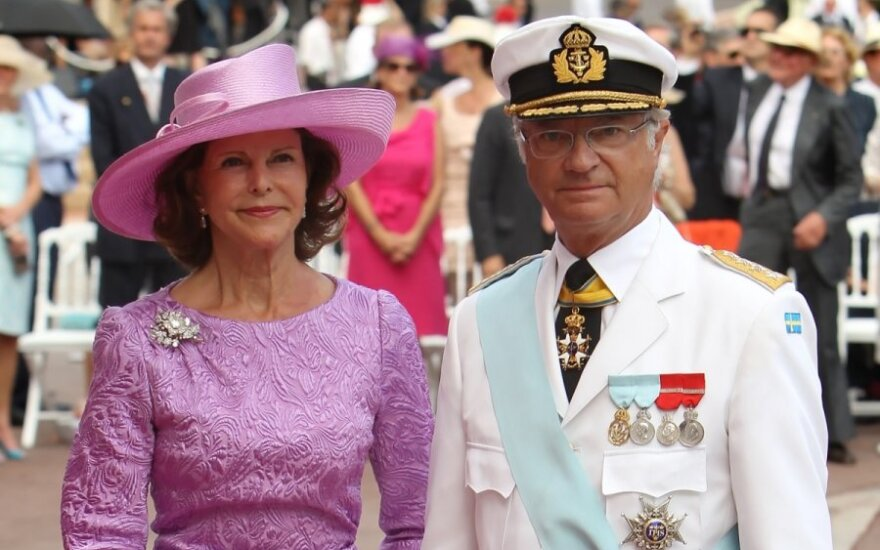 Swedish King Carl XVI Gustaf and Queen Silvia