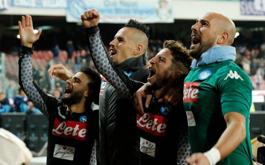 Napoli futbolininkai