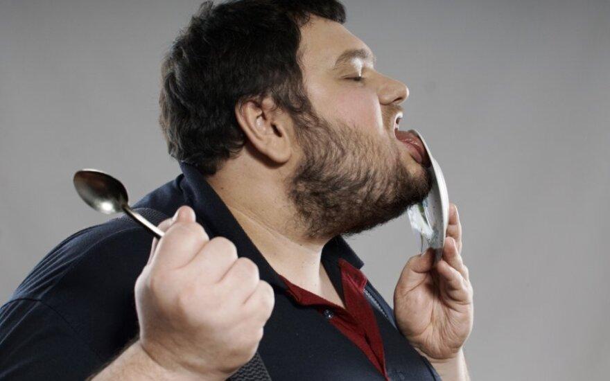 Ar antsvorio turintis žmogus gali būti sveikas?
