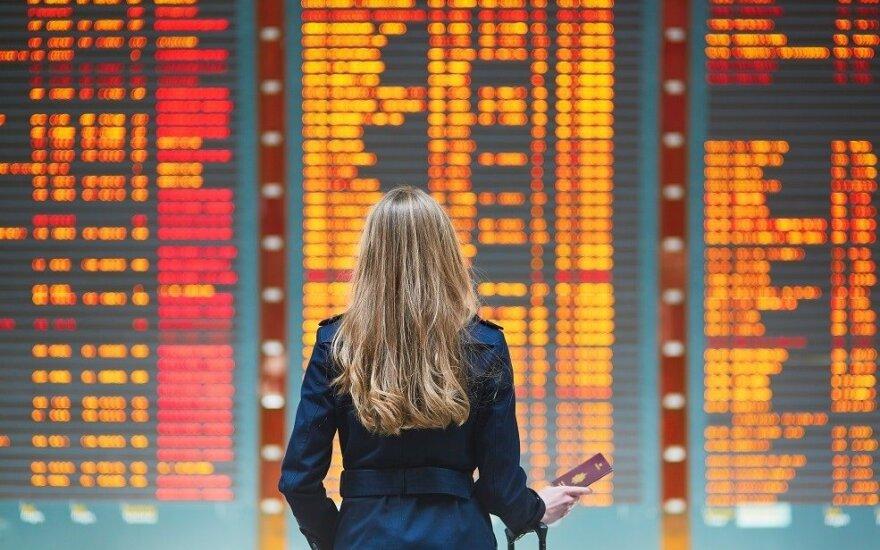 Dėl streikų Vokietijoje antradienį sutriks oro eismas