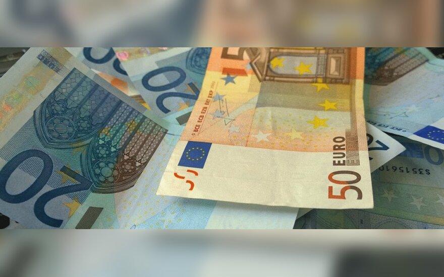 Euro zonos atsigavimas jau silpsta