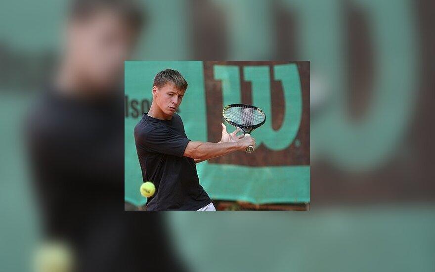 Pajėgiausių tenisininkų klasifikacijoje lietuviai praranda turėtas pozicijas