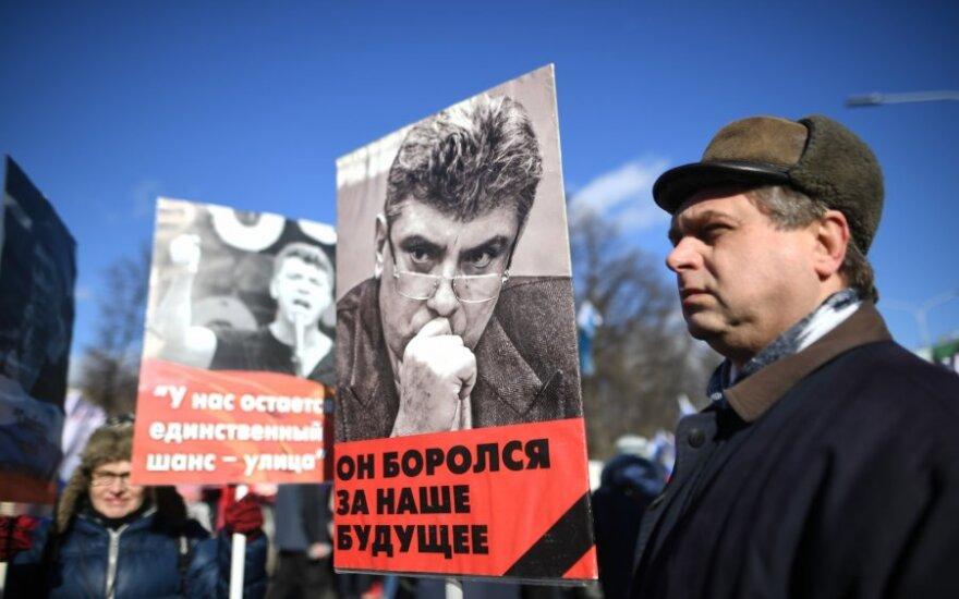Opozicija per eitynes Nemcovui atminti surengs akciją prieš valdžios nepakeičiamumą
