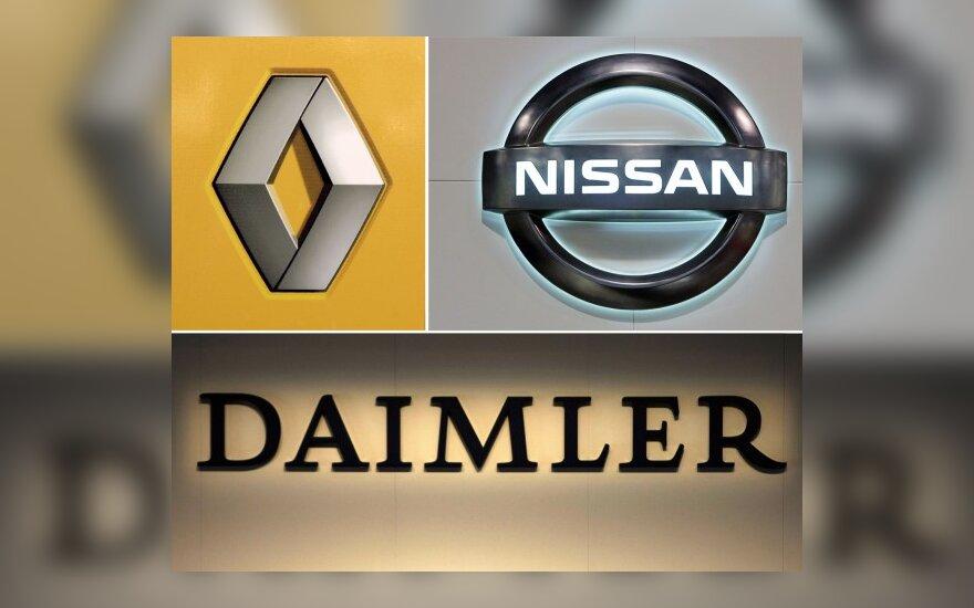 """Renault-Nissan"" varikliai – ""Mercedes-Benz"" automobiliams"