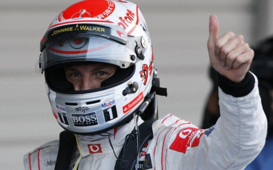 "Jensonas Buttonas (""McLaren"")"