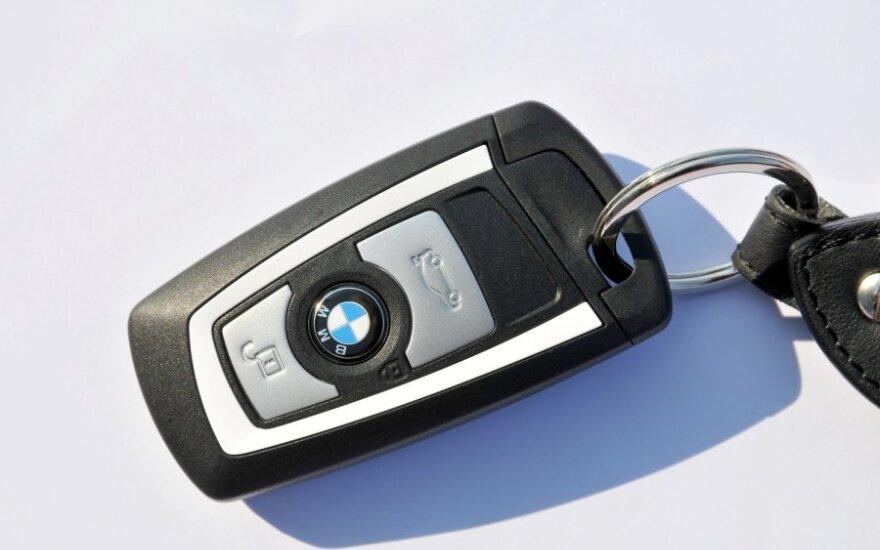 BMW, rakteliai