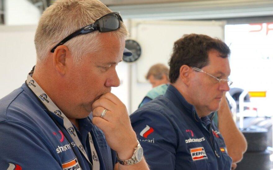 Dalius Steponavičius (kairėje)