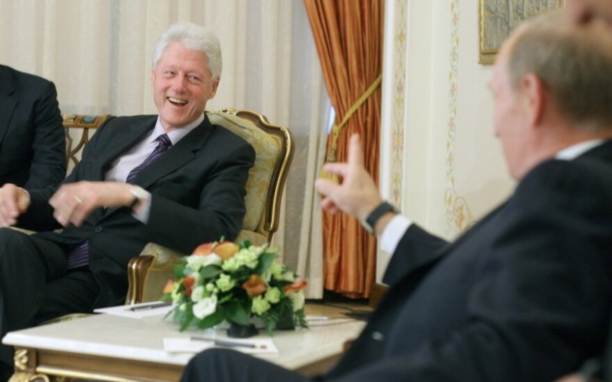 Billas Clintonas, Vladimiras Putinas