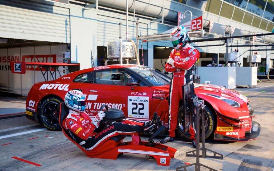 """""""Nissan"""" ieško greičiausių """"Gran Turismo"""" žaidėjų"""