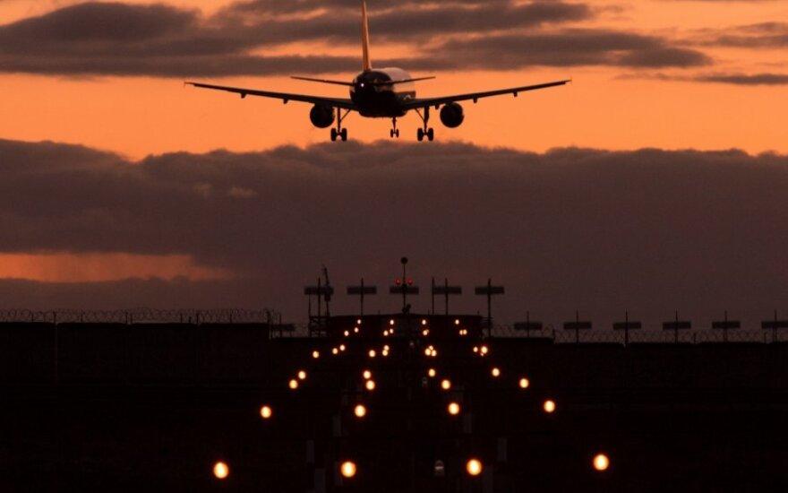 Uždraudė JAV civilinių lėktuvų skrydžius Irako oro erdve