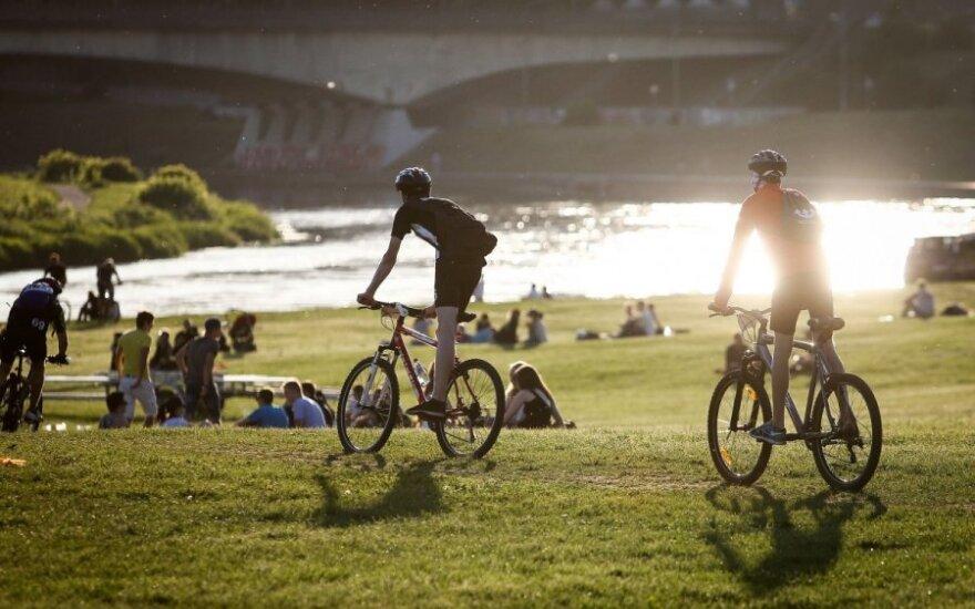 Nuo liepos – reikalavimai dviratininkams, kokių pasaulis dar nematė