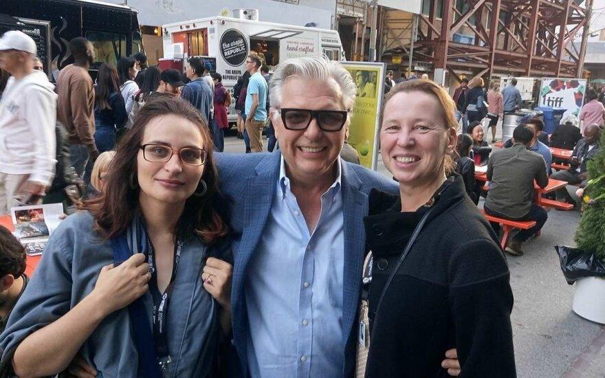 Eglė Vertelytė, Vyto Ruginis, Eglė Mikulionytė Tarptautiniame Toronto kino festivalyje