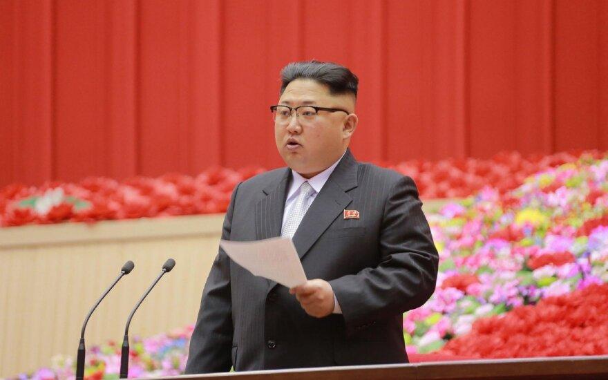 JAV išdėstė, kokiomis sąlygomis kalbėsis su Šiaurės Korėja