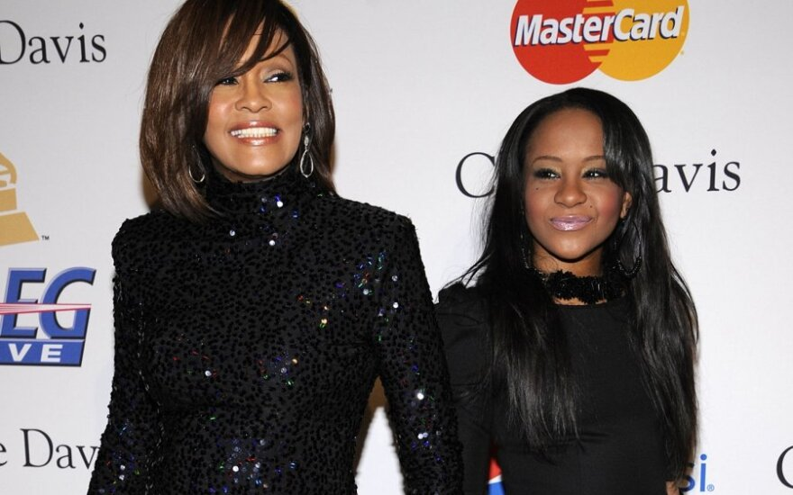 Whitney Houston ir Bobbi Kristina Brown