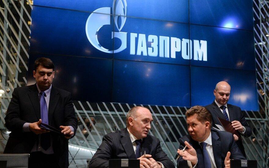 """""""Gazprom"""" užfiksavo naują dujų tiekimo Europai rekordą"""