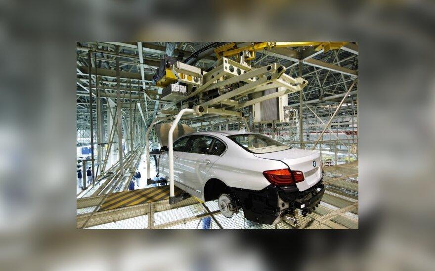 BMW naudos daugiau aliuminio
