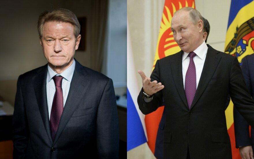Rusų žurnalistas gavo patvirtinimą iš Kremliaus: Paksas buvo susitikęs su Putinu