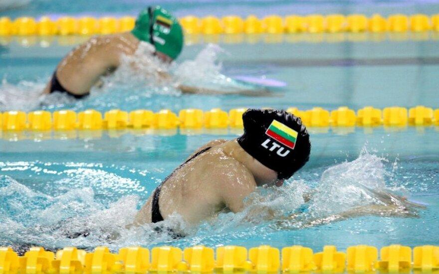 Lietuvos plaukimo pirmenybėse – pasaulio čempionato normatyvas ir naujas šalies rekordas
