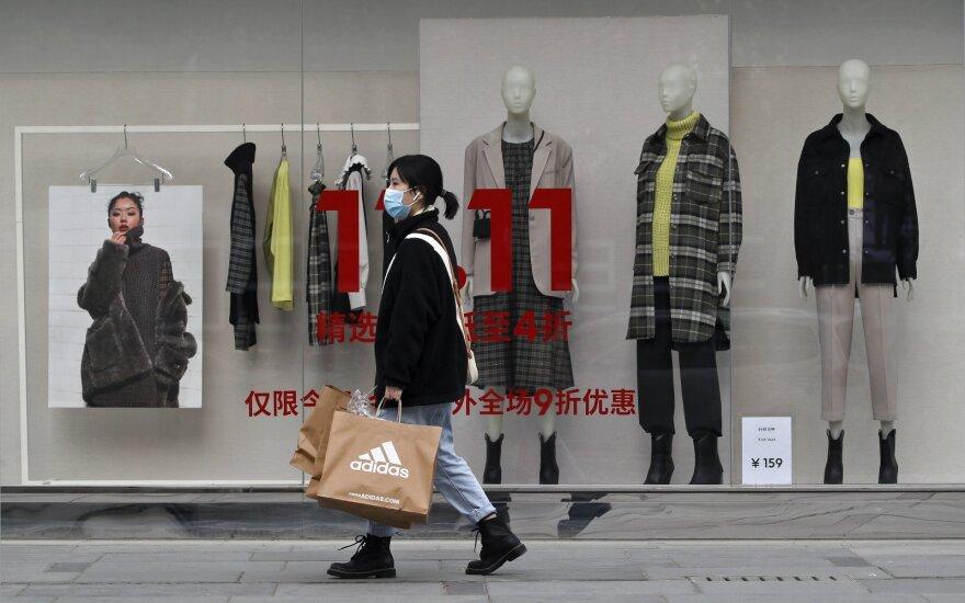 """Kinijoje vyksta eilinis """"Vienišių dienos"""" išpardavimų maratonas"""