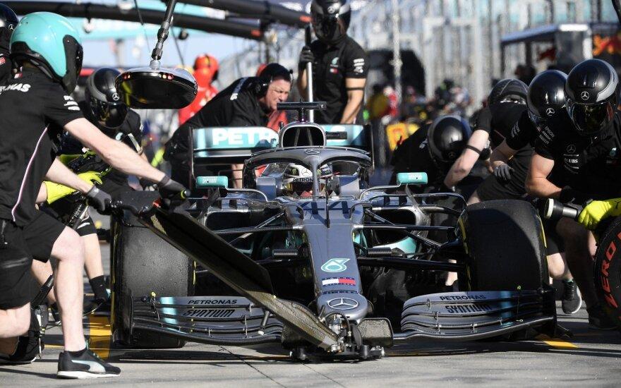 Lewiso Hamiltono bolidas