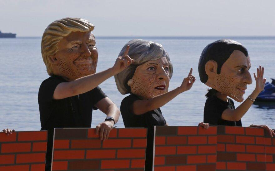 Pasaulio lyderiai pasipiktinę D. Trumpo sprendimu trauktis iš Paryžiaus klimato susitarimo