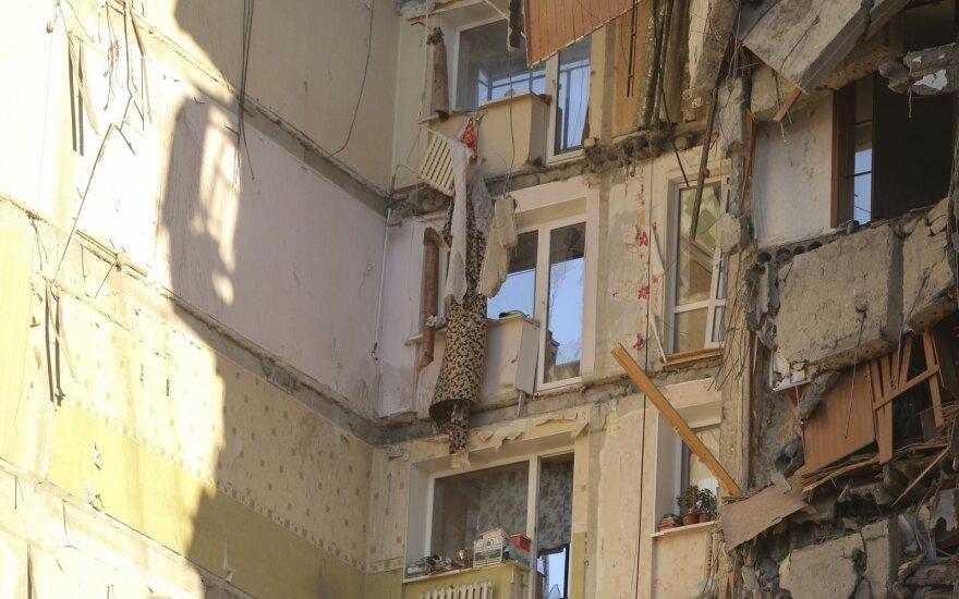 Putinas pareiškė užuojautą sprogimo Magnitogorsko daugiabutyje aukų šeimoms