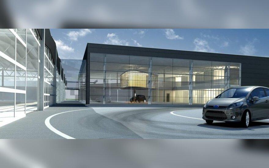 """""""Ford"""" išplėtė dizaino centrą Vokietijoje"""