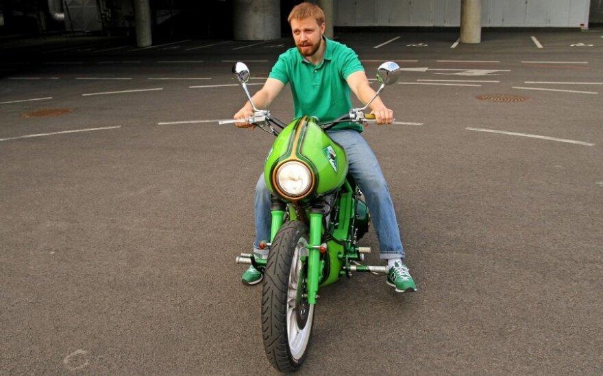 """Pauliaus Motiejūno """"Harley Davidson"""""""