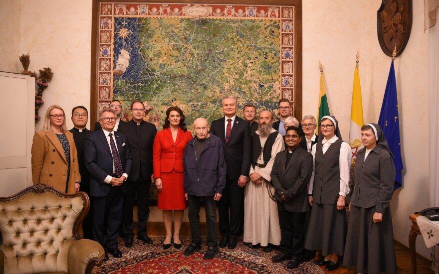 Nausėda susitiko su Italijos lietuviais: norėčiau, kad Lietuva neliktų provincija ES