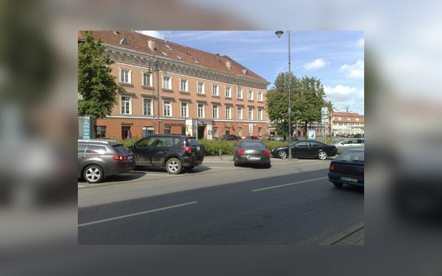 Bentley Vokiečių gatvėje. Skaitytojo nuotr.