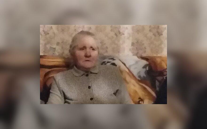 Ieškoma dingusi be žinios ligota senolė