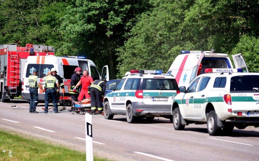 Per savaitę avarijose žuvo penki žmonės, du iš jų vaikai