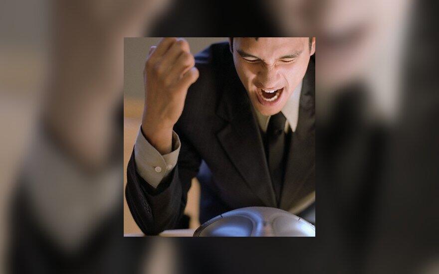 Mokslininkai: pykti yra sveika
