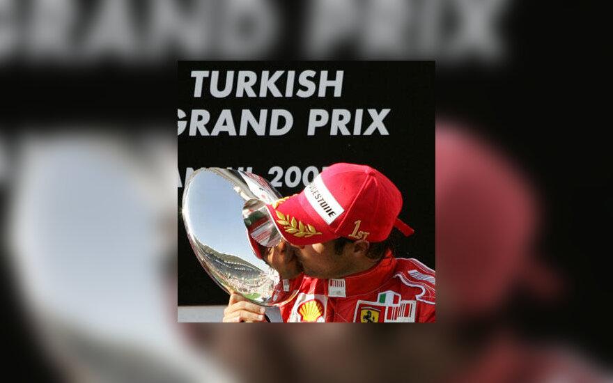 Felipe Massa - Turkijos GP nugalėtojas