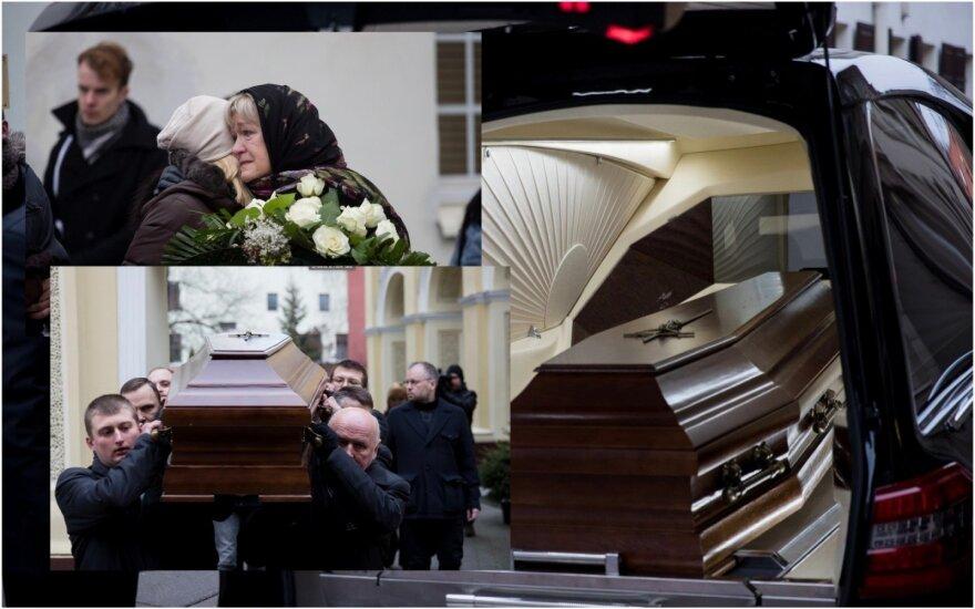 Eimunto Nekrošiaus laidotuvės