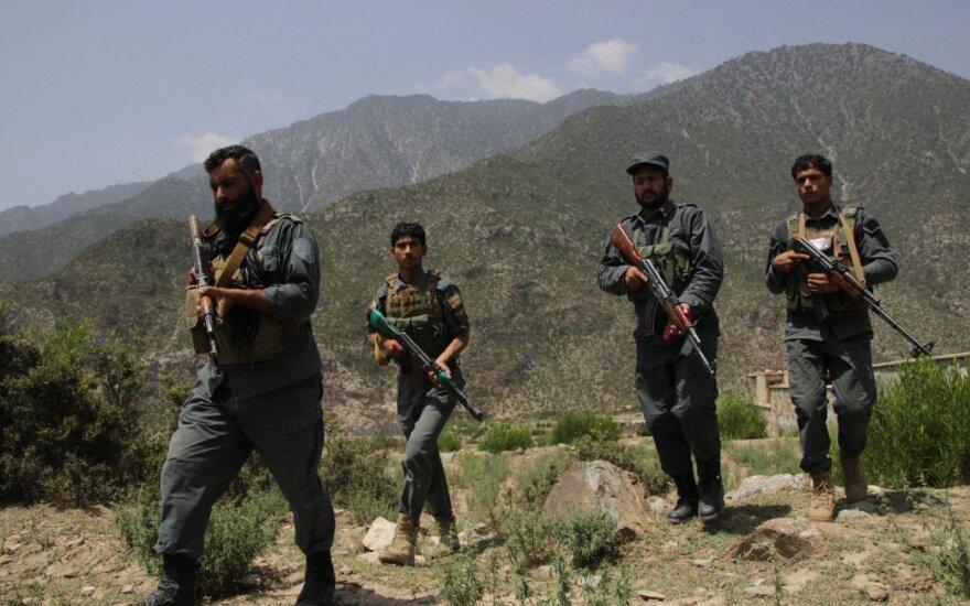 Ghani: JAV karių išvedimas iš Afganistano nepaveiks šalies saugumo situacijos
