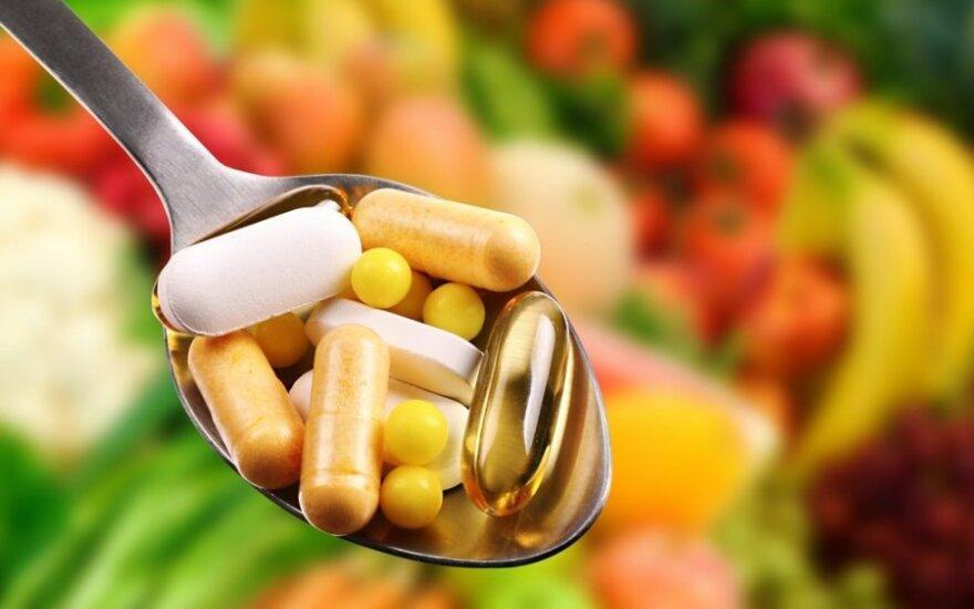 Vitaminai: gerti ar negerti?