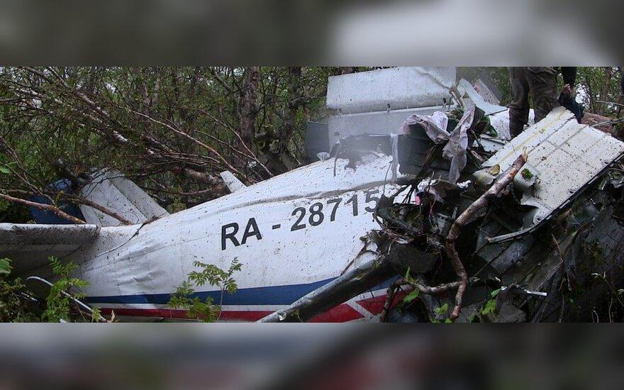Lėktuvą An-28 nukrito Kamčiatkos pusiasalyje