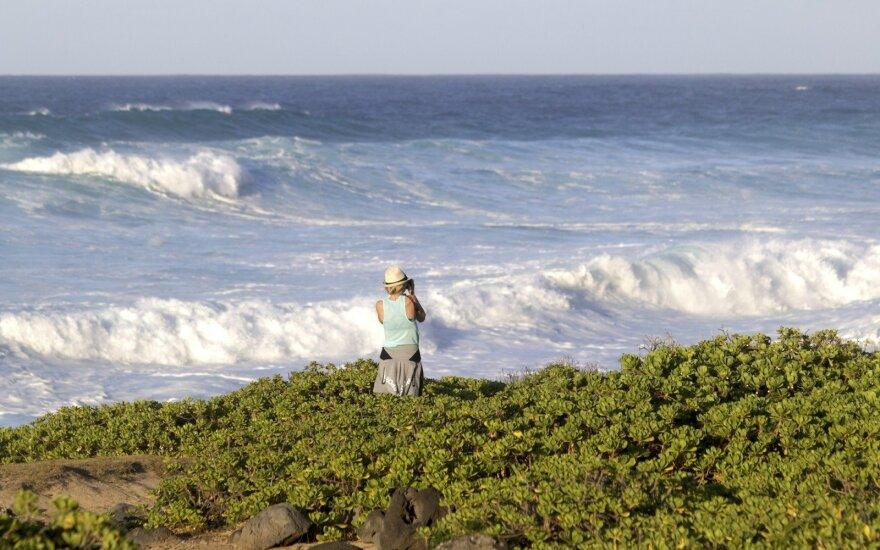 Pėsčiųjų žygis Havajuose: savomis kojomis į pasaulio kraštą