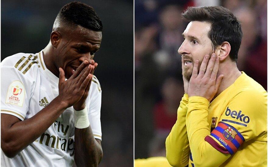 """""""Real"""", """"Barcelona"""""""