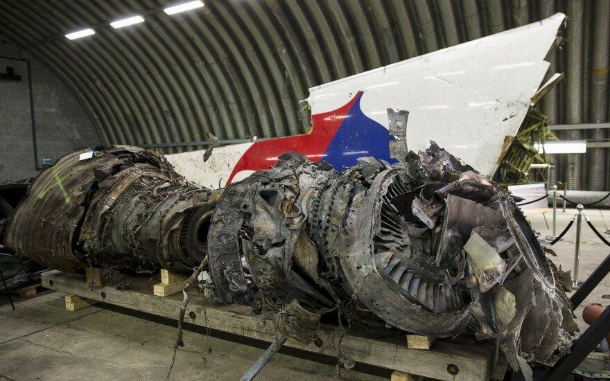 """Lavrovas: Nyderlandai nepagrindė """"faktais"""" kaltinimų dėl MH17 lėktuvo numušimo"""