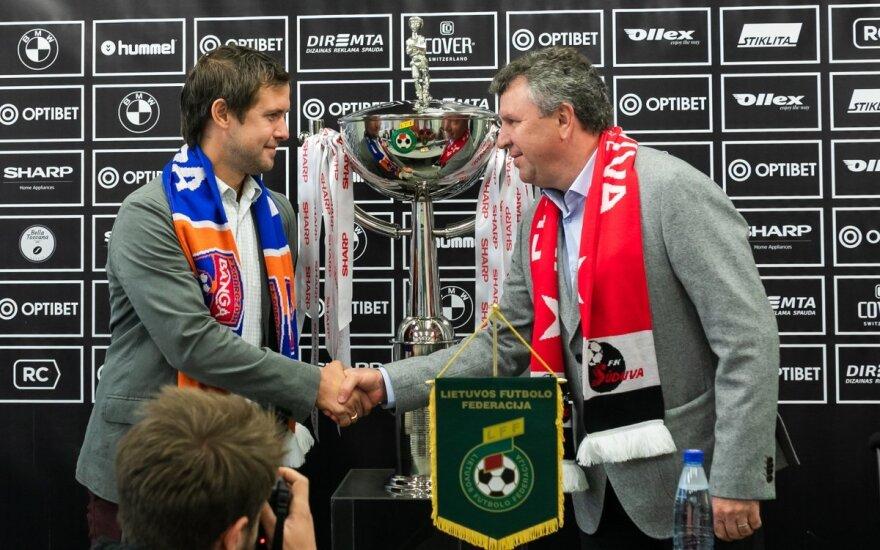 Tomas Tamošauskas (kairėje), Vladimiras Čeburinas (Foto: I. Markunaitė)