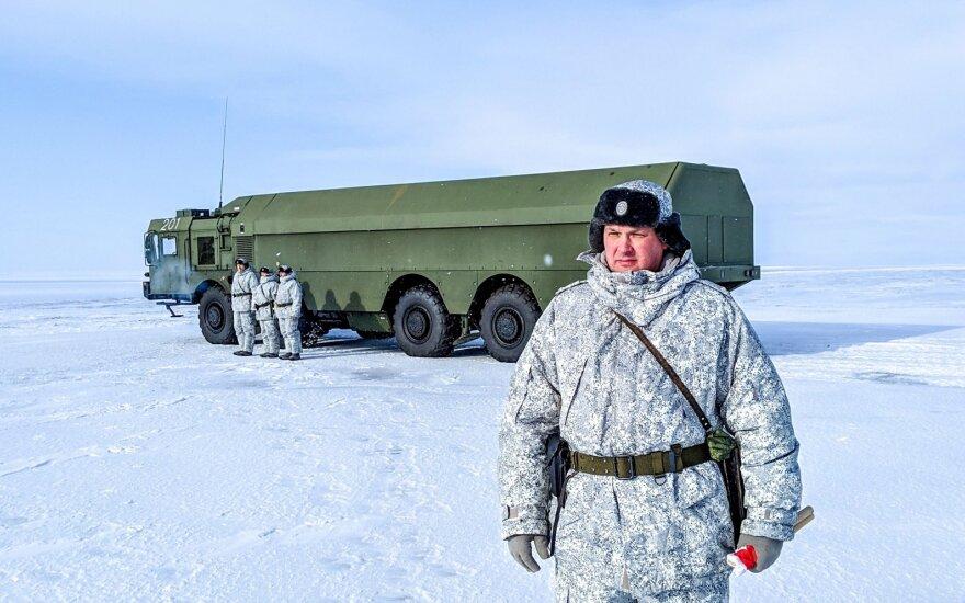 Rusų kariai Arktyje