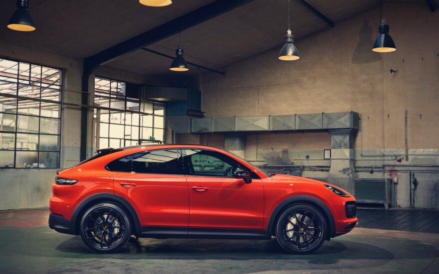 """Naujasis """"Porsche Cayenne Coupe"""""""