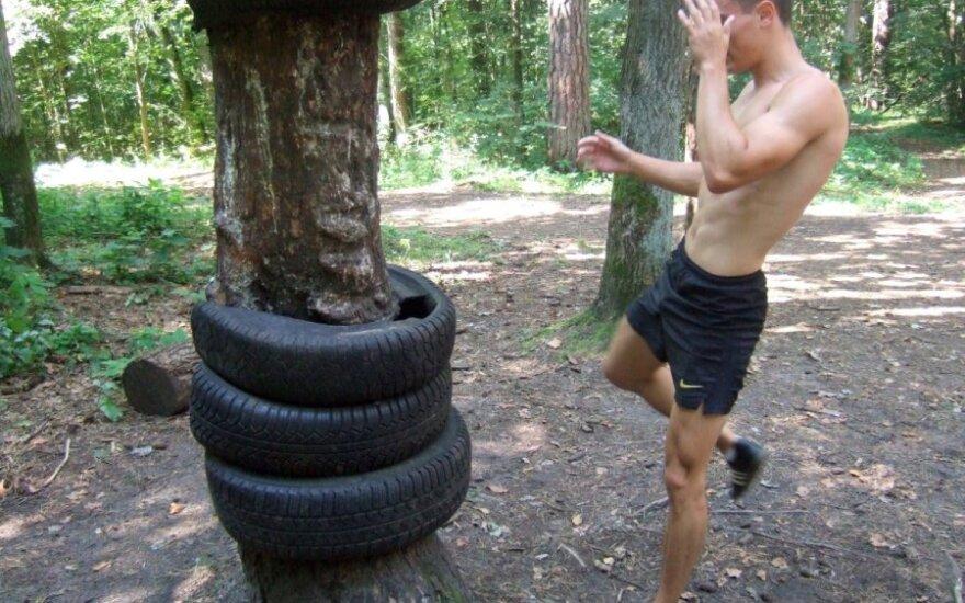 Sporto salės po atviru dangum įkūrėjas: kaip sportuoti, kad svoris negrįžtų