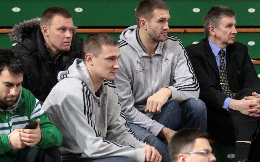 Paulius Jankūnas, Tadas Klimavičius ir Vitoldas Masalskis