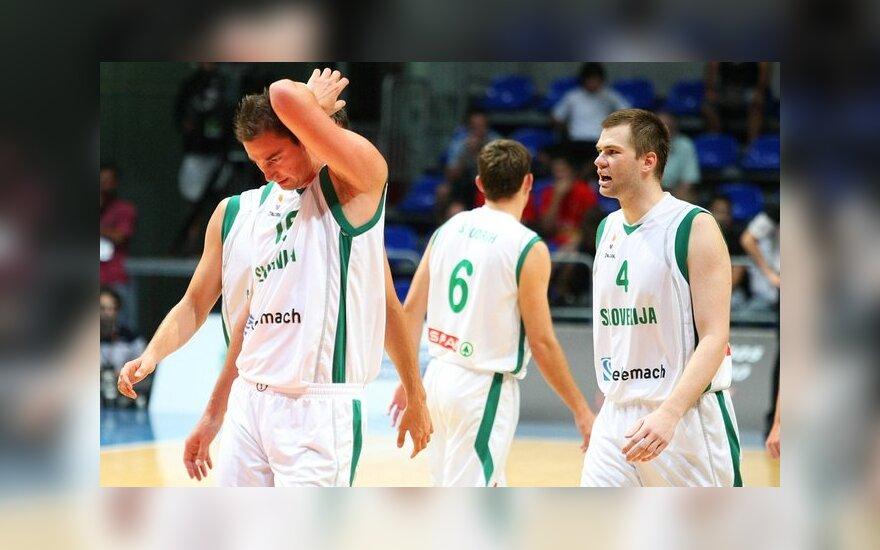 Slovėnijos rinktinės krepšininkai