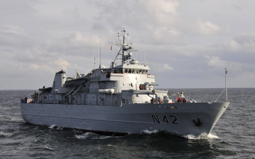 Lithuania hands over command of NATO Mine Counter-Measures Group ONE to Netherlands