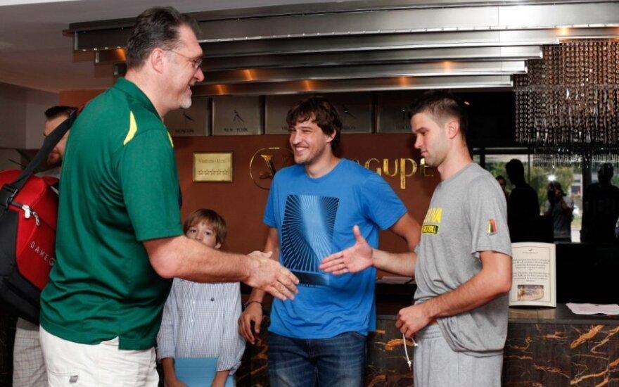Lietuvos krepšinio rinktinė pradeda pasiruošimą pasaulio čempionatui