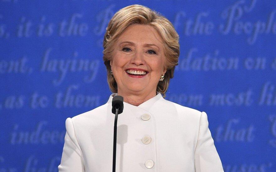 Dauguma JAV respublikonų mano, kad prezidento rinkimus laimės demokratė H. Clinton